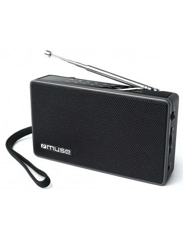 Muse M-030R radijas, juodas, 2 dažnių, nešiojamasis