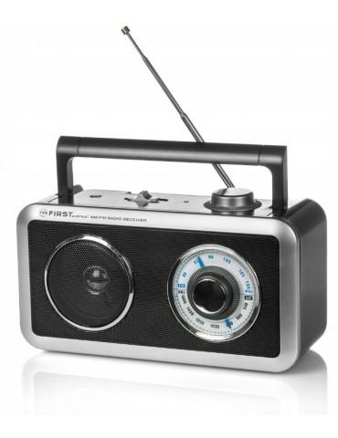 Nesiojamas radijo imtuvas su baterijomis
