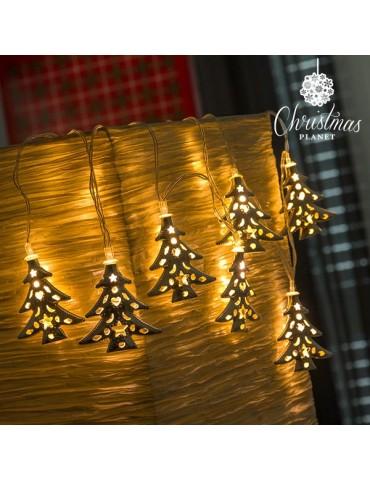 LED Girlianda Kalėdų planeta. Kalėdų eglutės  (10 LED...