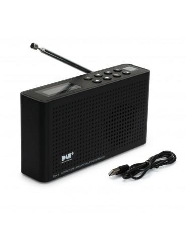 Internetinis radijo imtuvas Opticum TON4, juodas