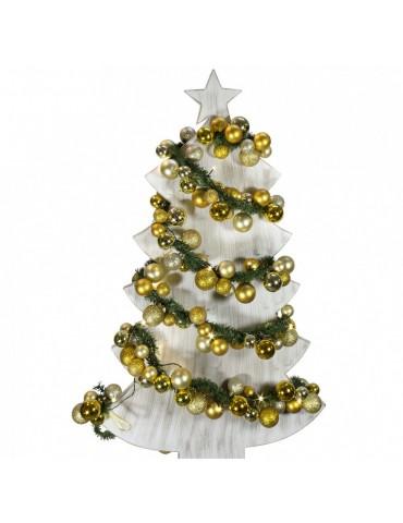LED Kalėdų girlianda, aukso atspalvio, 180cm, lauko sąlygoms