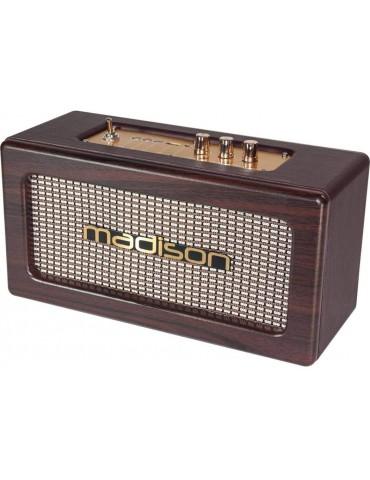 """Madison Vintage"" autonominis garsiakalbis su USB  ""Bluetooth"" 2x10W FREESOUND-Vintage-WD"