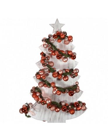 Kalėdų girlianda, raudono atspalvio, 180cm, lauko sąlygoms