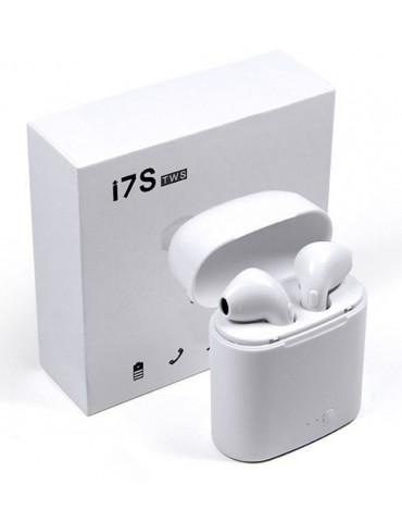 """Belaidės ausinės BT i7S TWS su """"POWERBANK"""""""