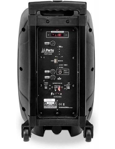 Įkraunama nešiojama garso sistema PARTY-8LED