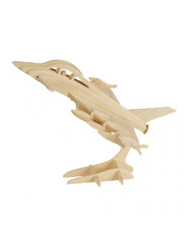 Medinė Dėlionė Lėktuvas