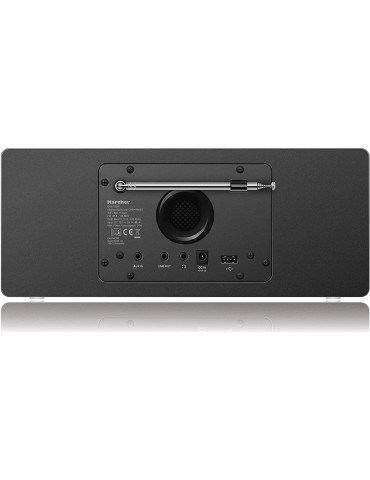 Karcher Interneto radijas+Stereo+DAB. Juodas