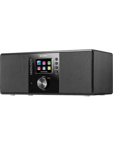 Karcher Interneto Radijas DAB 7000 I+Stereo. Juodas