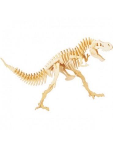 Medinė Dinozauro Griaučių Dėlionė