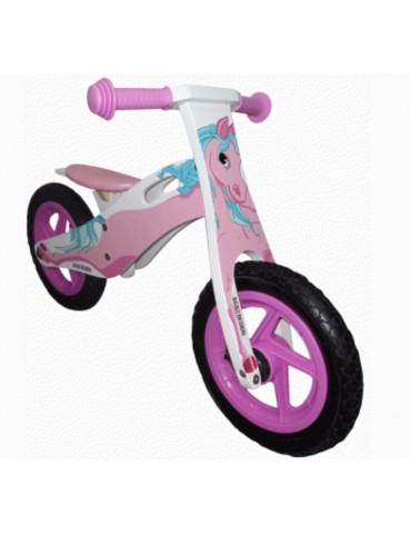 Balansinis pripučiamais ratais dviratukas Aga Design,...