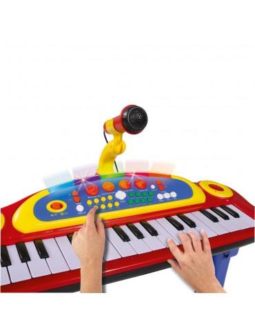 """Žaislinis pianinas su mikrafonu """"Simba"""""""