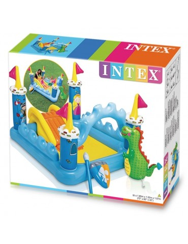 """Pripučiama žaidimų aikštelė-čiuožyklė """"Intex"""""""