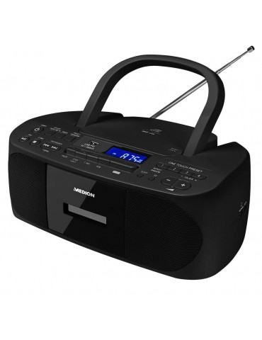Radijas-grotuvas MEDION MD43089, juodas