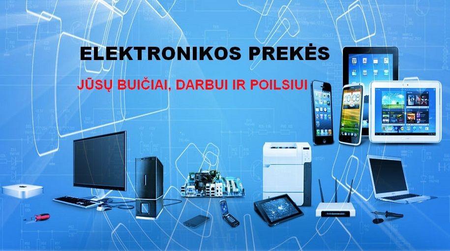 Elektronikos prekės visiems gyvenimo atvejams-kurmelis.lt